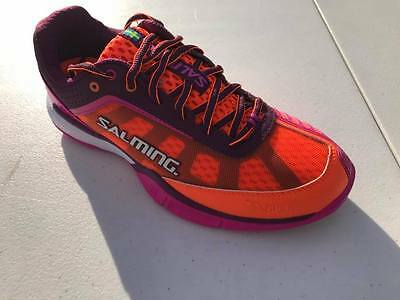 *NEW* Salming Viper 3.0 Womens Orange/Purple. Avail in Sizes 6-10 *Custom Sqash
