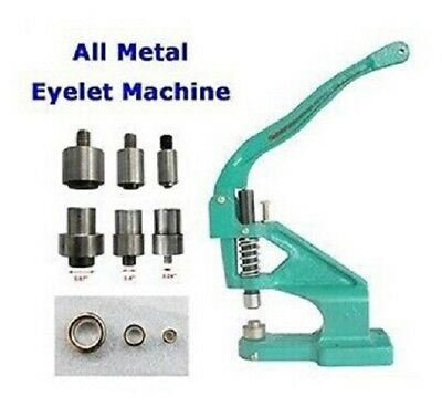 All Metal Hole Eyelet Machine Kit