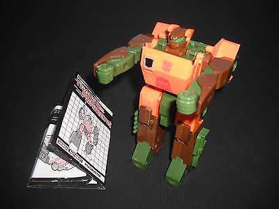 Original G1 Transformers Roadbuster Jeep,1984, Action-Figure, with intructions