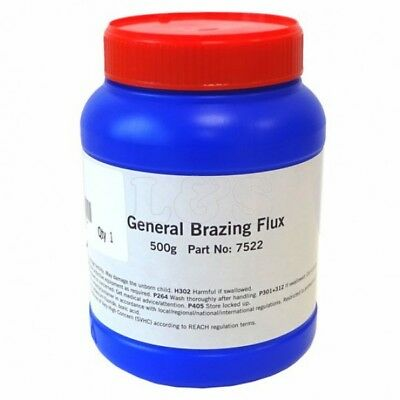 High Quality General Purpose Brazing Flux 500g - White Powder