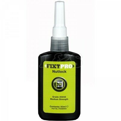FIXT Nut Lock - 50 ml Bottle for locking & sealing of nuts, bolts