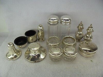 Job Lot of Solid Silver Items for Scrap or Resale