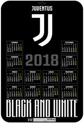 Calendario JUVENTUS 2018 - 3D Pop Up - (37x55)