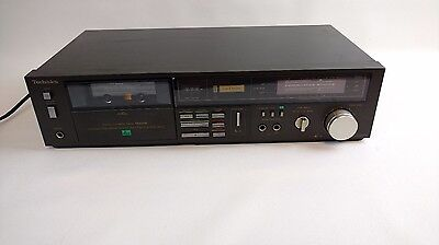 Vintage Technics Dolby RS-M229X Stereo Cassette Deck DBX CRo2 Metal Working