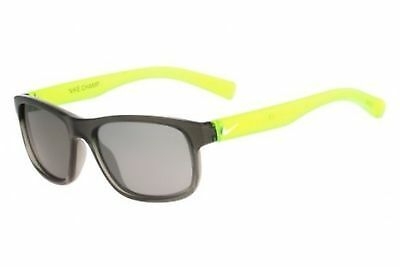 Nike EV0815 Golf Champ Sunglasses, Anthracite/Volt, Grey with Silver Flash 48mm