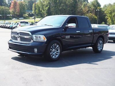 """2015 Ram 1500 4WD Crew Cab 140.5"""" Laramie Limited True Blue Pearlcoat Ram 1500 with 27582 Miles available now!"""