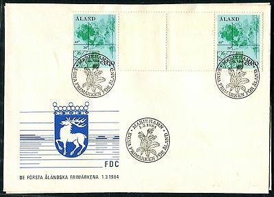 Aland 1984 gutter pairs on FDCs (2)
