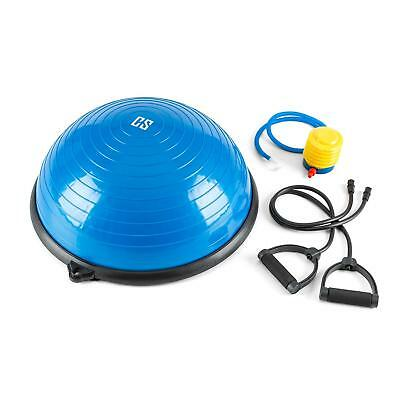 Balancing Board Half Ball Gym Equipment Home Excercise Straps Pump Pull Across
