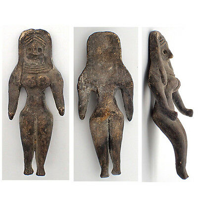 Excavated Ancient Teracotta Mother Goddess Fertility Indus Valley 600 BC #959