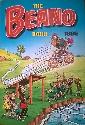 The Beano Book 1986 in good condition.