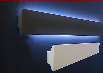 10 Cornici In Polistirolo Tagliate 150 X 60 X 1000 Mm Cornice Per Led