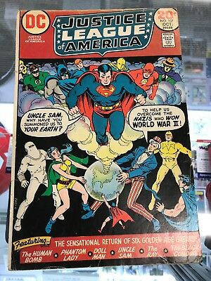 Justice League of America (1960 1st Series) #107 VG