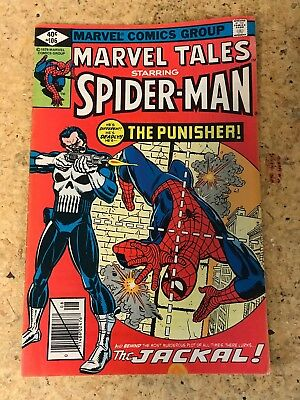 Marvel Tales #106 (1979) FN- 5.5 reprints Amazing Spider-Man 129 1st Punisher