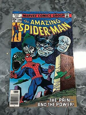 AMAZING SPIDERMAN #181 The Pain & The Power! NM-