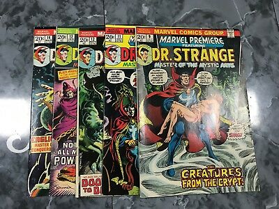 Marvel Premiere Featuring Dr. Strange 9 11 12 13 14 *5 Book Lot*  FN - VF