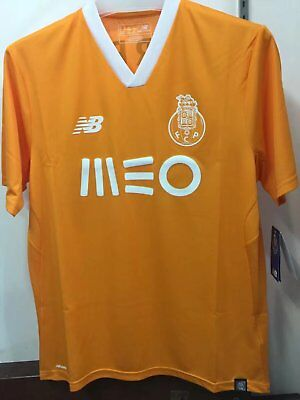 17/18 FC Porto FCP Soccer Yellow Jersey Shirt All SIZE (S-3XL)