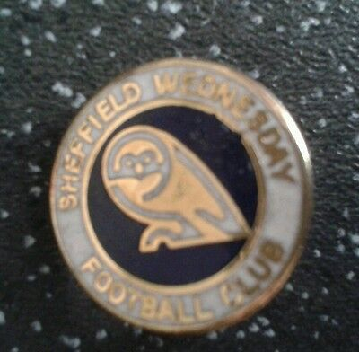 Vintage Sheffield Wednesday badge.