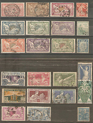Joli Lot De Timbres De France Avant 1929