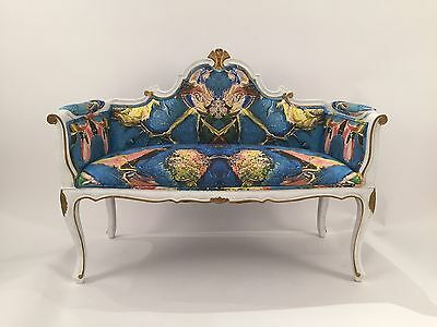 Antique Restored French Settee
