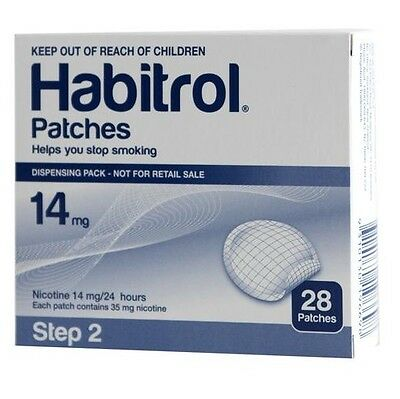 Step 2 Habitrol Nicotine Patch (10 Boxes, 280 Count) FRESH
