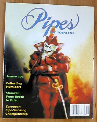 Pipes and Tobaccos Magazine - Summer 2001