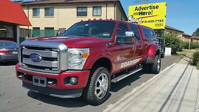 2013 Ford F-350  2013 F-350  4x4 DRW  Crewcab Lariat Tow Truck / Wrecker 4WD