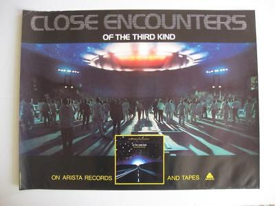 """Close Encounters Of The Third Kind 1977 Arista 29"""" x 22"""""""