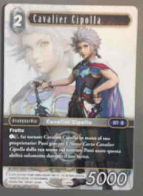Final Fantasy TCG Onion Knight Cavalier Cipolla PROMO 1-181H