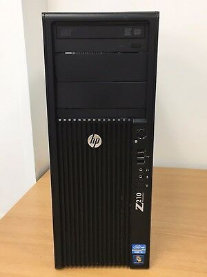 HP Z210 Workstation - Intel Core i3-2120@3.30GHz, 8GB, 160GB, NVS 295, Win10 Pro