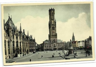 1 postkaart Bruges Grand Place City