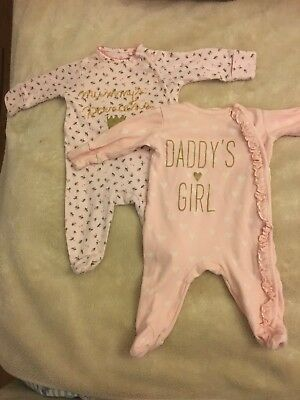Next Girls Baby-grows 0-3