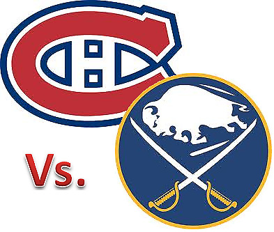 2 Tix  Buffalo SABRES @ MONTREAL CANADIENS Nov. 11th  Bell Center SATURDAY night