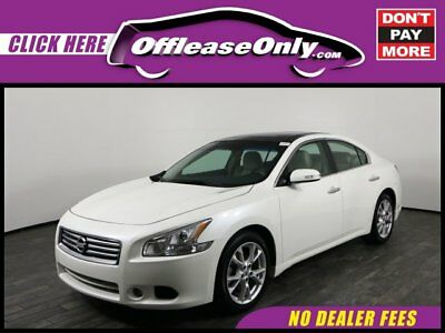 2014 Nissan Maxima 3.5 SV FWD Off Lease Only 2014 Nissan Maxima 3.5 SV FWD Premium Unleaded V-6 3.5 L/213