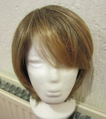 Rene of Paris Amore Wig. Colour Light Brown with golden blonde highlights