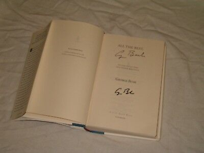President George H Bush Hand Signed Autographed All The Best First Edition Book