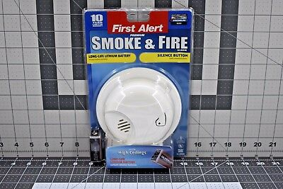 First Alert Premium Smoke & Fire Alarm w/ Battery Included *NEW*FREE US SHIPPING