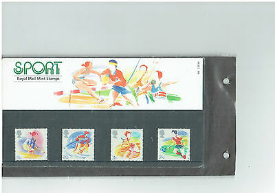 Stamp Set Sport 1988  stamp collecting