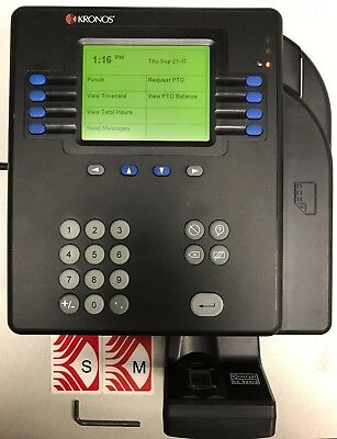 KRONOS System 4500 Time Clock 8602800-501 - USED