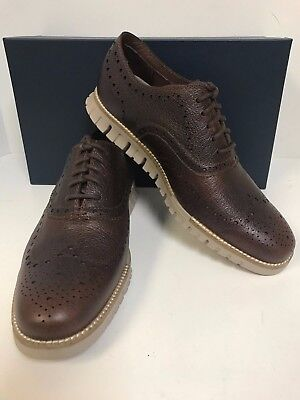 Cole Haan Zerogrand Wing Oxford C26323 Grand Canyon Leather Closed Perf - Men's