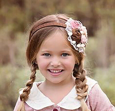 EUC girls' Persnickety Elena headband from the Pretty in Pink collection