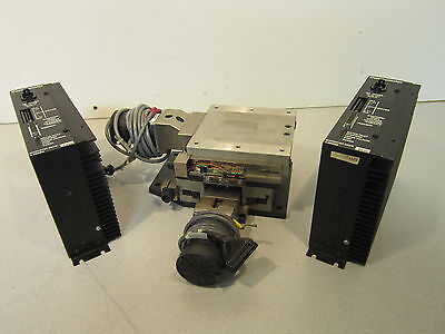 Parker- Daedel 4x4 Motorized XY Stage W/ Compumotor S6 Controller 87-011279-01-E