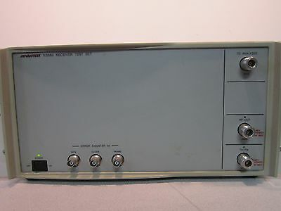 Advantest R3560 Receiver Test Set, Powers On, Opt: 006, 300VA Max, 48-66Hz