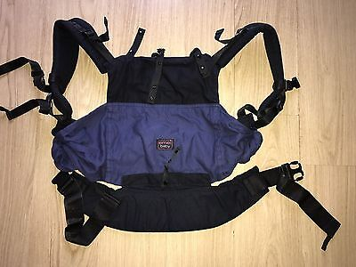Emeibaby carrier toddler size ~black/blue ~