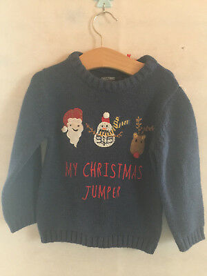 BNWT NEXT Christmas Jumper - 12-18 Months