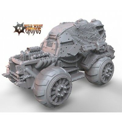 Wild West Exodus Sand Buggy Outlaws resin miniature new