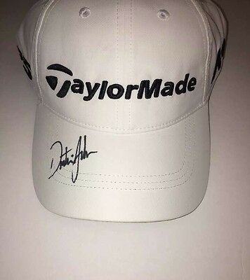 Dustin Johnson Signed Autographed Brand New TaylorMade Hat Auto