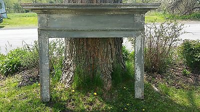 Antique Fireplace Mantel and Surround