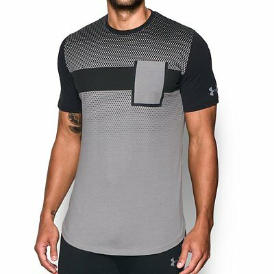 New Under Armour Men's UA Pursuit Pocket Basketball Short Sleeve Shirt XL