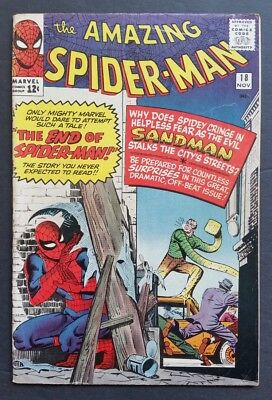 Amazing Spider-Man #18 • Sandman • Fine- (5.5) Or Better • Homecoming