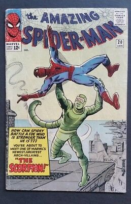 Amazing Spider-Man #20 • 1St Scorpion • Vg (4.0) • Homecoming • Infinity War